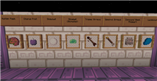 Items I do. Make the purpur and end bricks based on the screenshot by steelfeathers