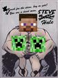STEVE VS CREEPER2