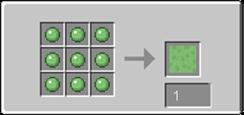 Slime block Recipe