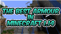 BEST Armour in Minecraft Thumbnail