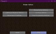 shader options