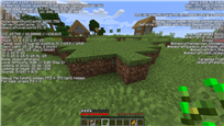 F3 enabled screenshot
