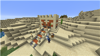 Diff. survival world, with desert theme