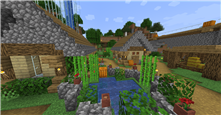 A small section of my singleplayer village