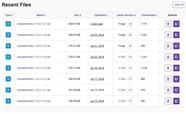Simple Farming File Upload Dates