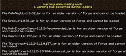 Minecraft error 1.14.4