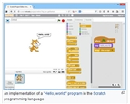 example of scratch and visual programming