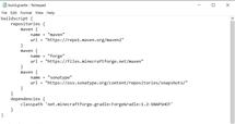 build.gradle file