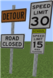 The new signs in game!