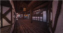 House #1 - Interior View