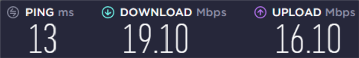 my friend's connection speed (#1)