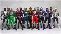 Kamen rider dragon knight rider all