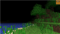 Trees, water, and sand