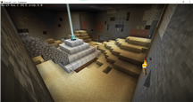 Minecraft bunker entry hall