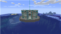 an unfinished shot of my base from when i used to play on ebrius!