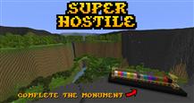 super hostile complete the monument banner