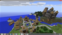 Minecraft City Day New