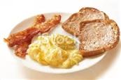 Eggs Toast Bacon